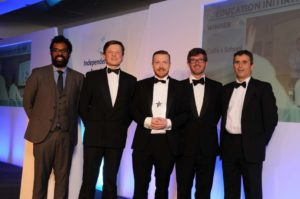 Tougher Minds wins the ISA Education Initiative of the Year 2014.
