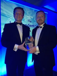 Tougher Minds and Colfe's School win Education Initiative of the Year