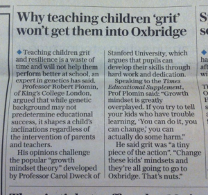 The article, which appeared in London's Evening Standard on Friday 13th November 2015.