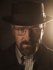 Breaking Bad lead character Walter White.