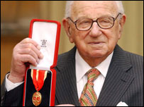 Sir Nicholas Winton - his work to save Jewish children from the Nazis was not entirely successful. Yet his great humanitarian achievement can help to show that whilst our personal endeavours might not have a perfect outcome, they are all still worthy of merit.