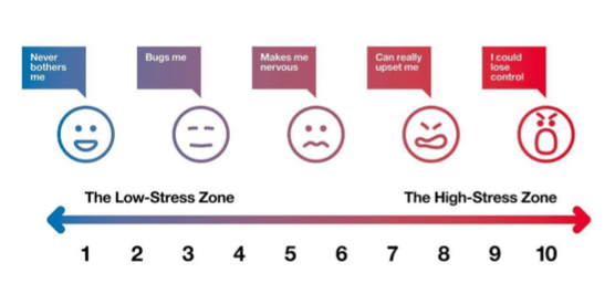 The stress continuum